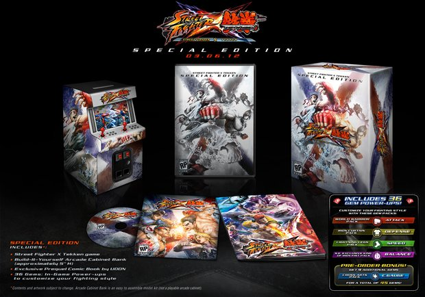 streetfighterxtekken collectors