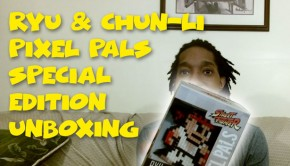 LVLONE-Pixel-Pals-street-fighter-unboxing