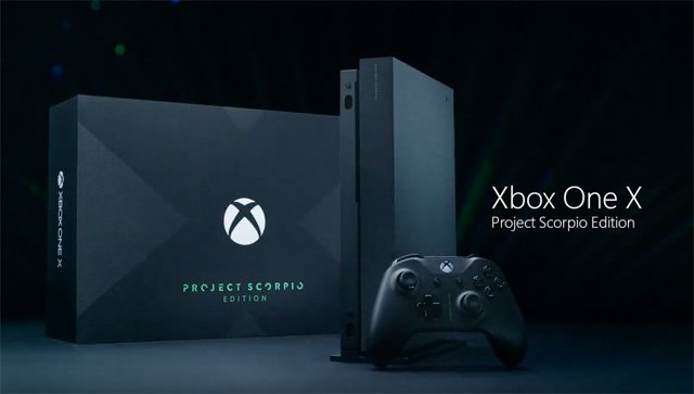 xbox one x project scorpio unboxing